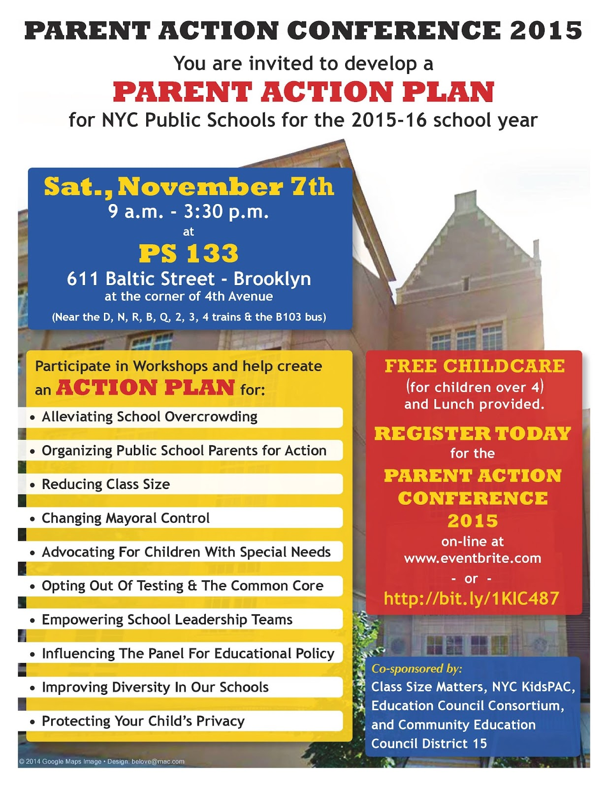 Sign up for our Parent Action Conference today!