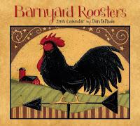 2016 Barnyard Roosters Calendar