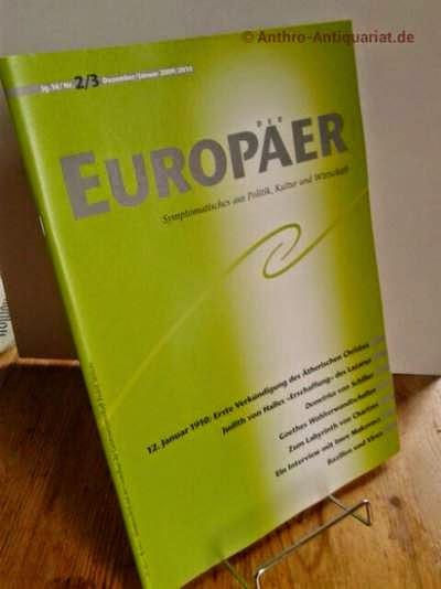 EUROPÄER : Symptomatisches aus Politik, Kultur und Wirtschaft.