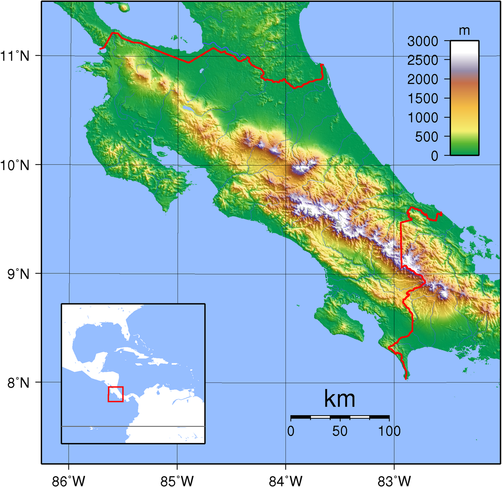 The Geography Of Costa Rica