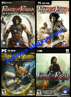 Prince of Persia PC Game Complete Series