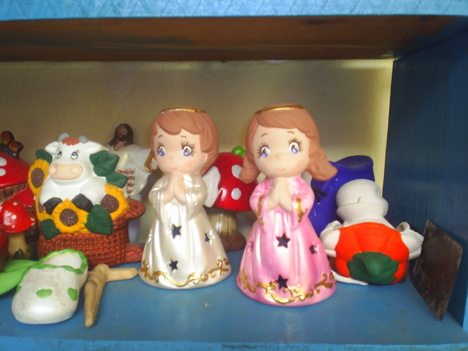 Taller de manualidades valle de anahuac figura de for Figuras ceramica