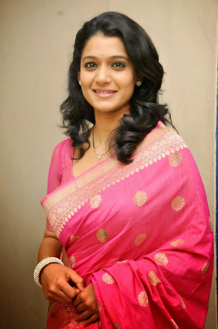 Urmila In Pink Saree