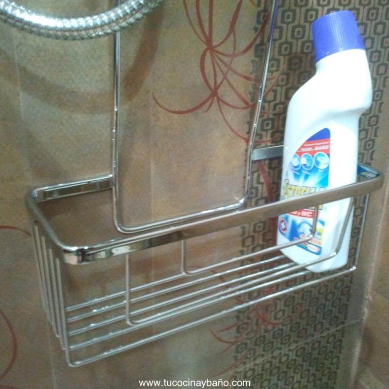 Cesto colgar grifo ducha tu cocina y ba o for Jabonera ducha colgar
