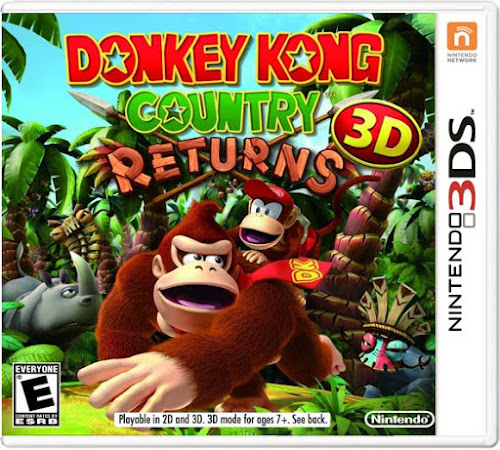 Download Donkey Kong Country Returns 3D (3DS CIA)