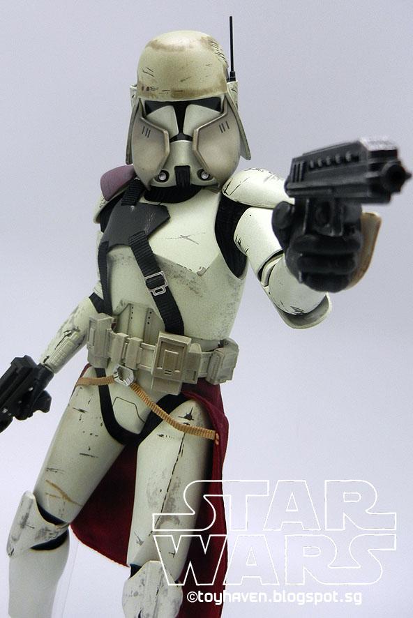 toyhaven sideshow collectibles star wars 16 clone