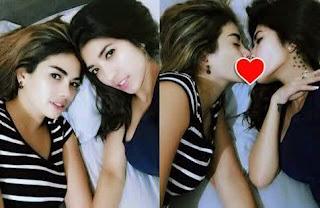 Foto Ciuman Bibir Nikita Mirzani  dan Giska, Hebohkan Instagram