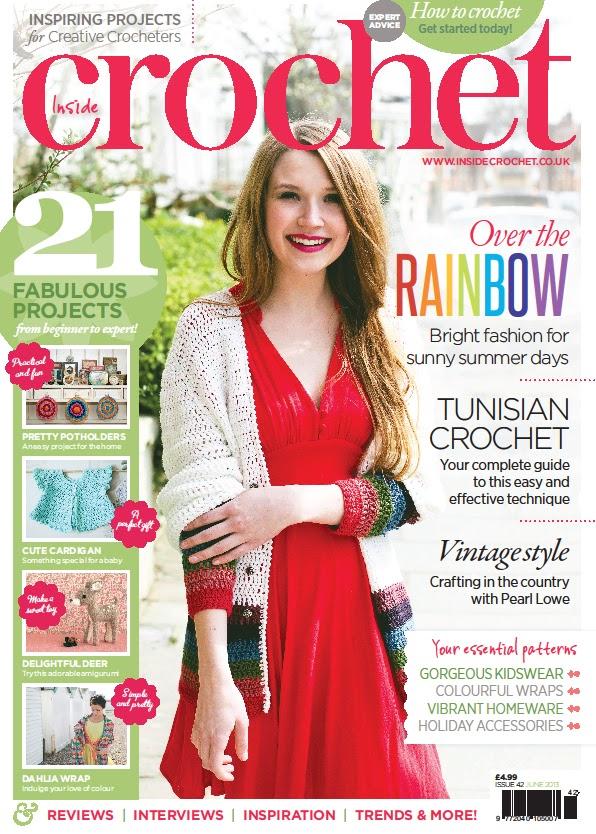 Get Hooked on Crochet: Day 150 - Inside Crochet Magazine Issue 42