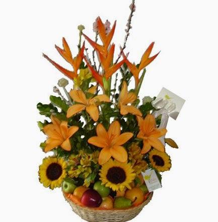 Arreglos Florales en Cestas, parte 2