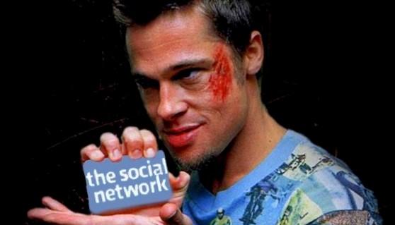 Vector Social Media Icons for Facebook Network (SVG