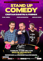 Stand-Up Comedy Sambata 17 Iunie  Bucuresti