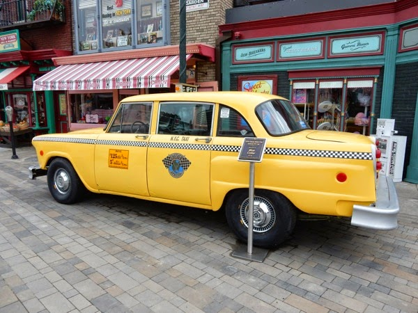 Yellow NYC cab Blue Collar film