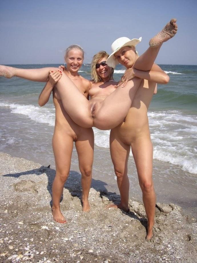Novinhas Gostosas Fazendo Putaria Na Praia
