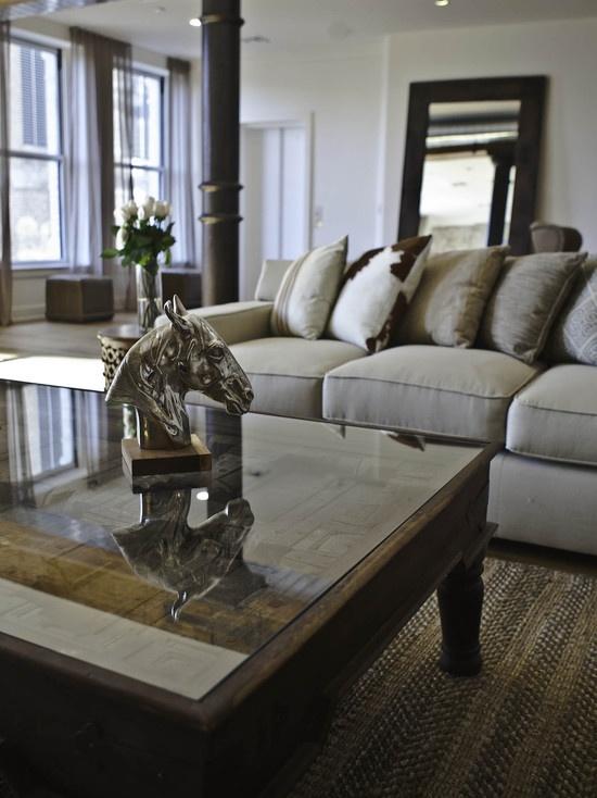 Decoracion de salas y comedor color gris - Decoracion en gris ...