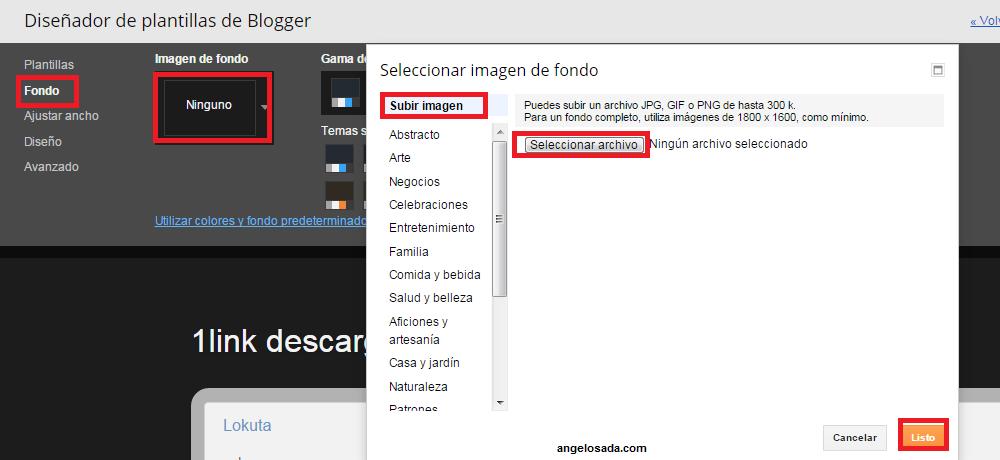 Crear Landing Page en Blogger