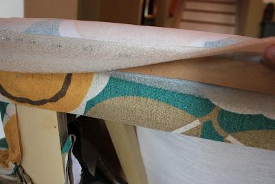 upholster furniture tutorial