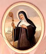 Breve Biografía de Matilde de Hackeborn  Matilde de Hackeborn, Santa, nació en el castillo de Helfta, alta Sajonia, en 1241. Monja cisterciense y mística alemana.