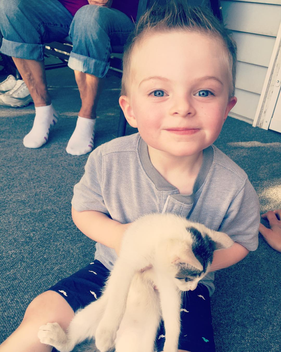 Cam and a kitty