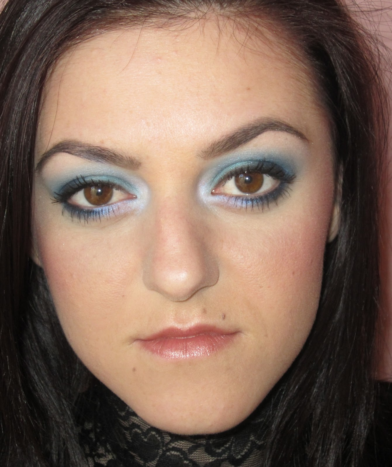 Personal thoughts about BEAUTY and MAKE-UP: Dramatic blue ...