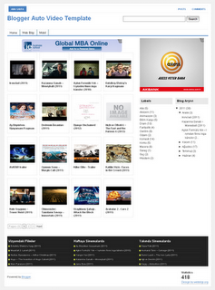 Blogger Auto Video Template by webbilgi - FREE Download - http://techattacks4u.blogspot.in/