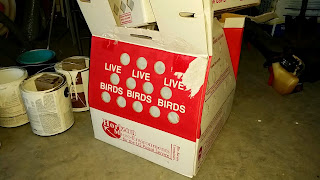 Chicken shipping box
