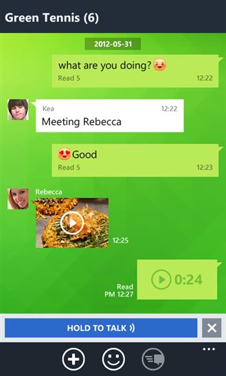 تحميل تطبيق LINE لأين لأجراء المكالمات والرسائل لويندوز فون ونوكيا لوميا مجاناً xap-3.1.1.209