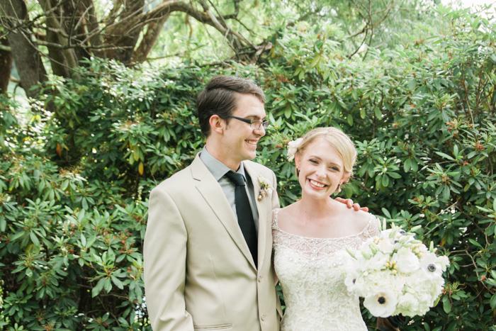 A Backyard Christmas Tree Farm NC Wedding Pictures - Boone Photographer