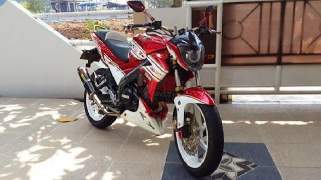 Modifikasi Yamaha Vixion Fighter 2011
