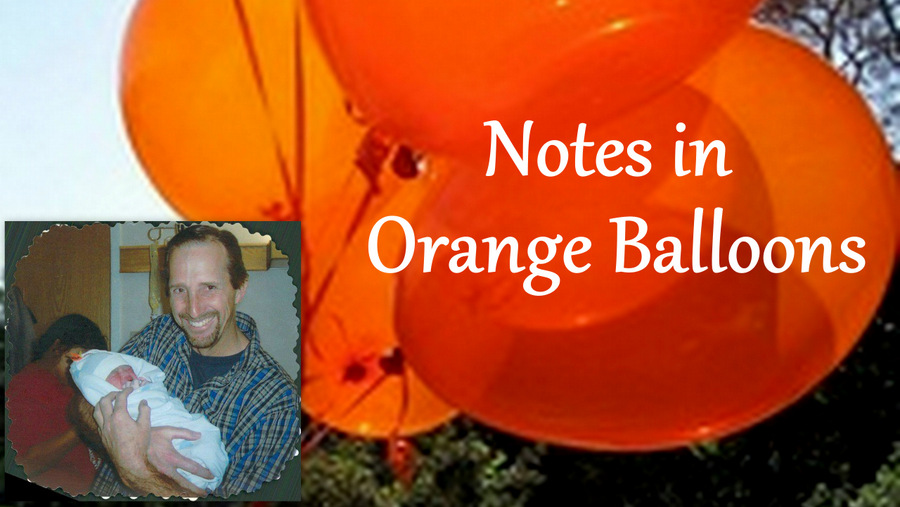 Notes in Orange Balloons
