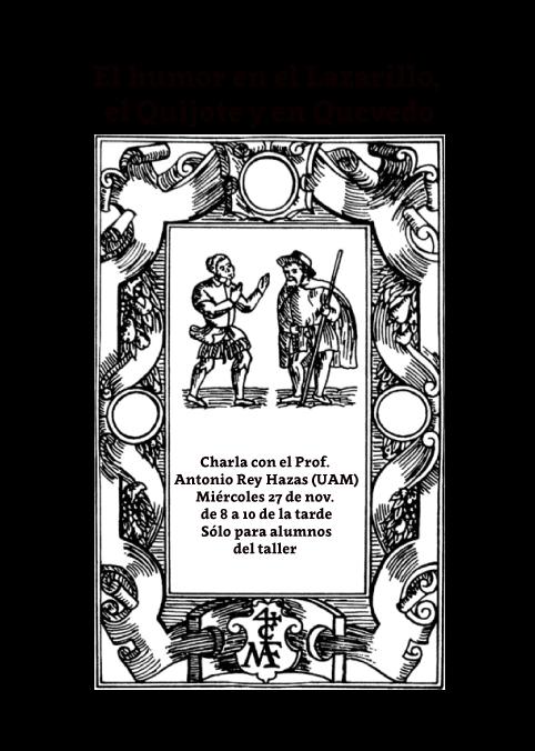 Antonio Rey, El humor en el Lazarillo, Literaturas Hispánicas