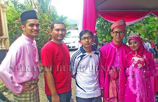 pengantin pink