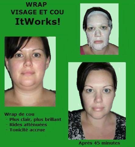 wrap minceur visage