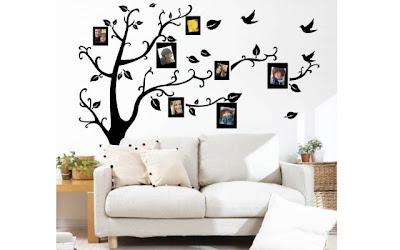 Stunning  off the Family Tree with Branches u Photo Frames Wall Decal Just Shipped