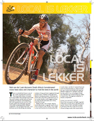 Latest Photojournalism - Published in June 2012 Tour de France magazine