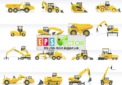 [Vector] - Tractors and excavators
