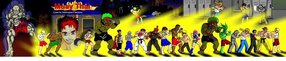 Muay Thai Flash Game Making