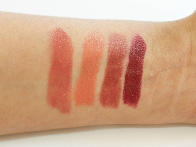 Autumn Winter Drugstore Lipstick Swatches