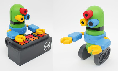 B6400 ED-IT DJ Resin Figures by Tesselate