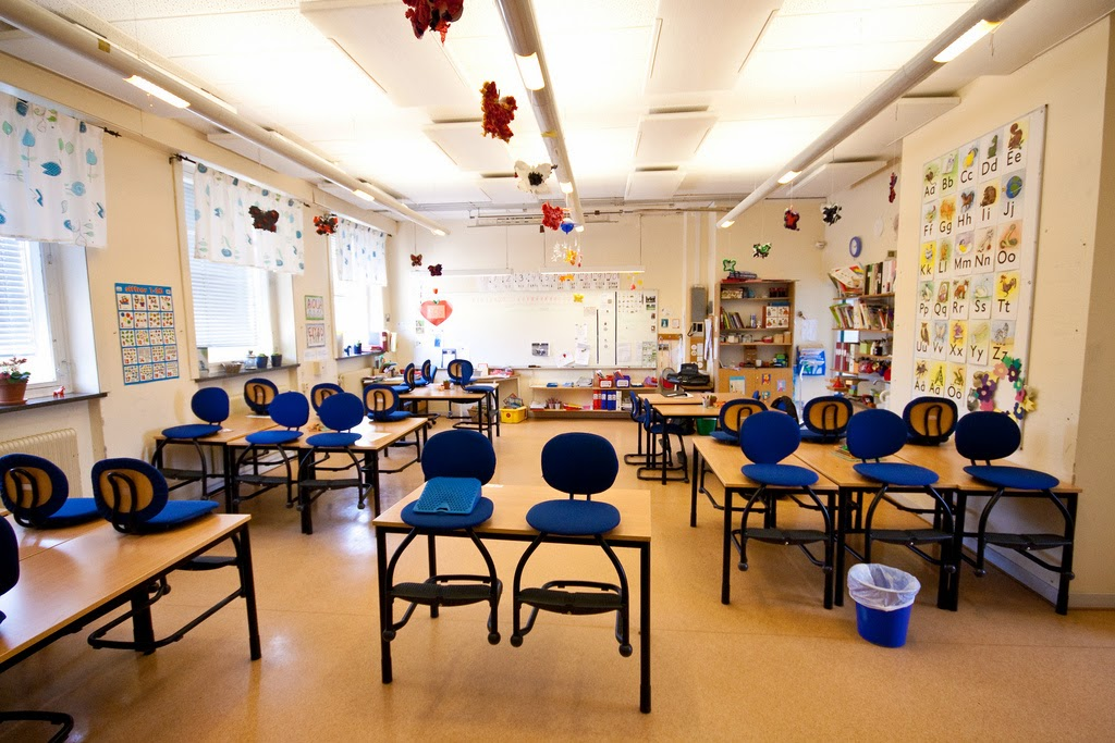 sweden classroom