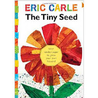 Preschool flower books and activities for May