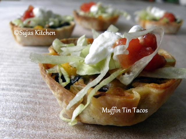 Veggie Muffin Tin Tacos