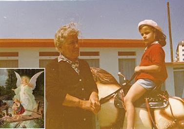 Nonna Maria Cavicchi Gandini e Alessandra