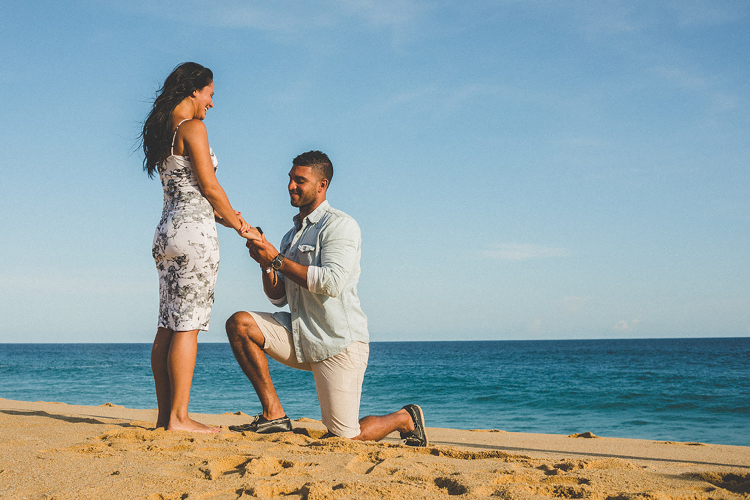 Cabo Marriage Proposal