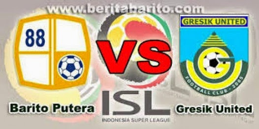 Barito Putera vs Gresik United ISL QNB League    2015