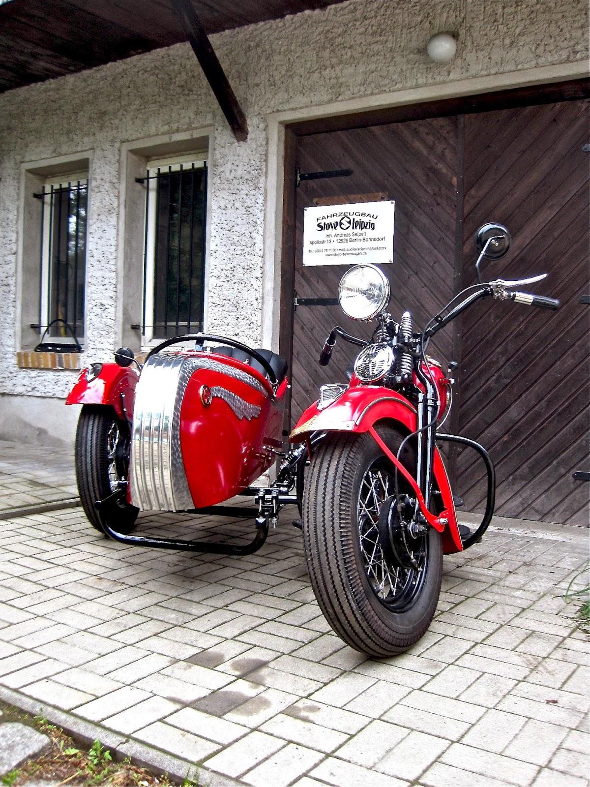 Stoye Fahrzeugbau Blog: Gespannbau Harley Davidson Panhead 1948 mit ...