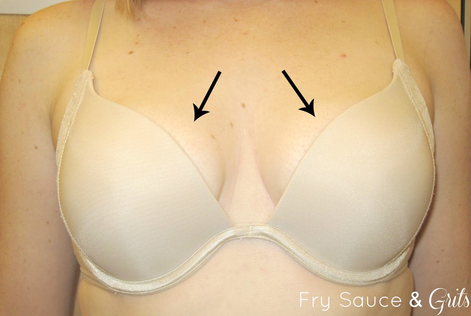 Bra Sizing from FrySauceandGrits.com