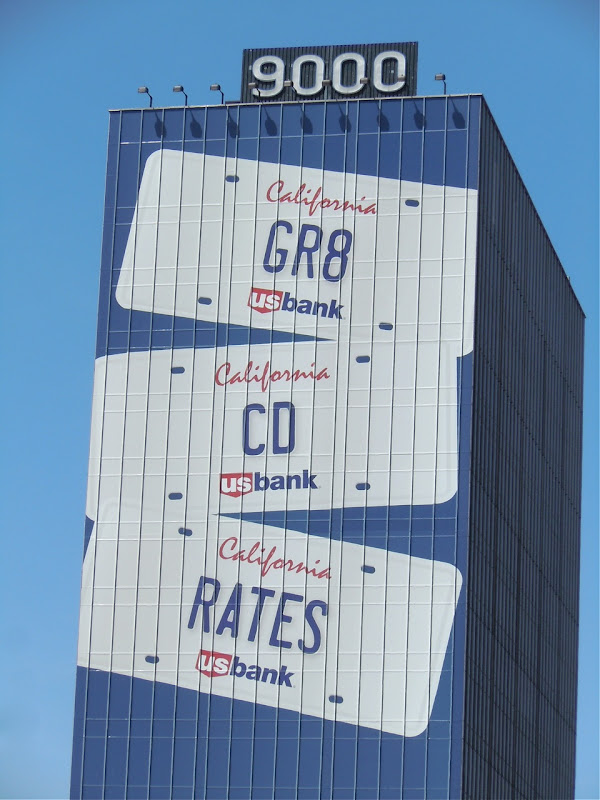 US Bank GR8 Rates billboard
