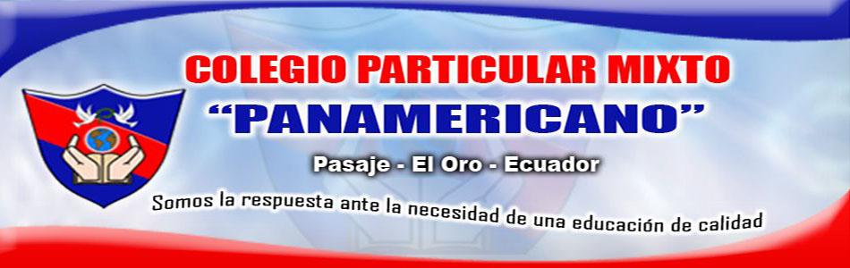 """COLEGIO PARTICULAR MIXTO """"PANAMERICANO"""""""