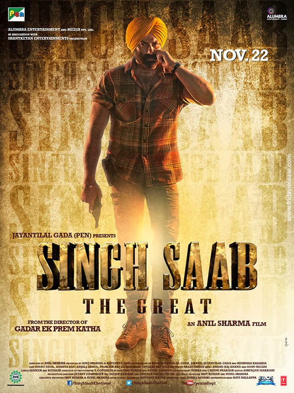 Watch Singh Saab the Great (2013) Hindi DVDScr Full Movie Line Audio Watch Online For Free Download