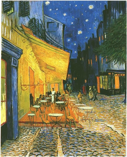 "Picture of ""Cafe Terrace at Night"" by Vincent van Gogh, 1888"